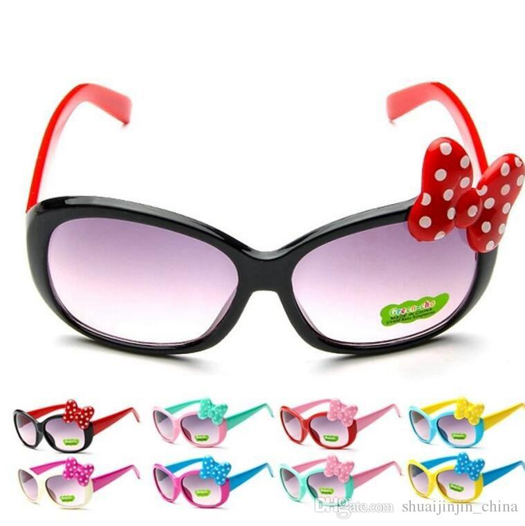 050dd3ce36 Fashion Kids Sunglasses Children Princess Cute Baby Baby Cartoon Bowknot Glasses  Sunglasses Goggle KKA3337 Sunglasses At Night Lyrics Glasses For Men From  ...