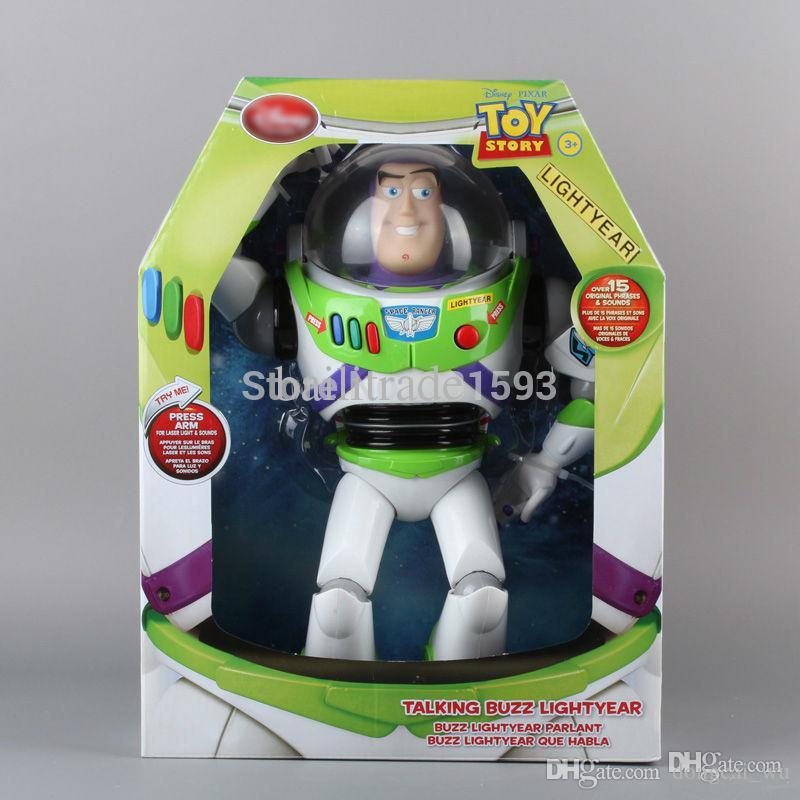 2019 wholesale cartoon toy story 3 buzz lightyear toys talking buzz