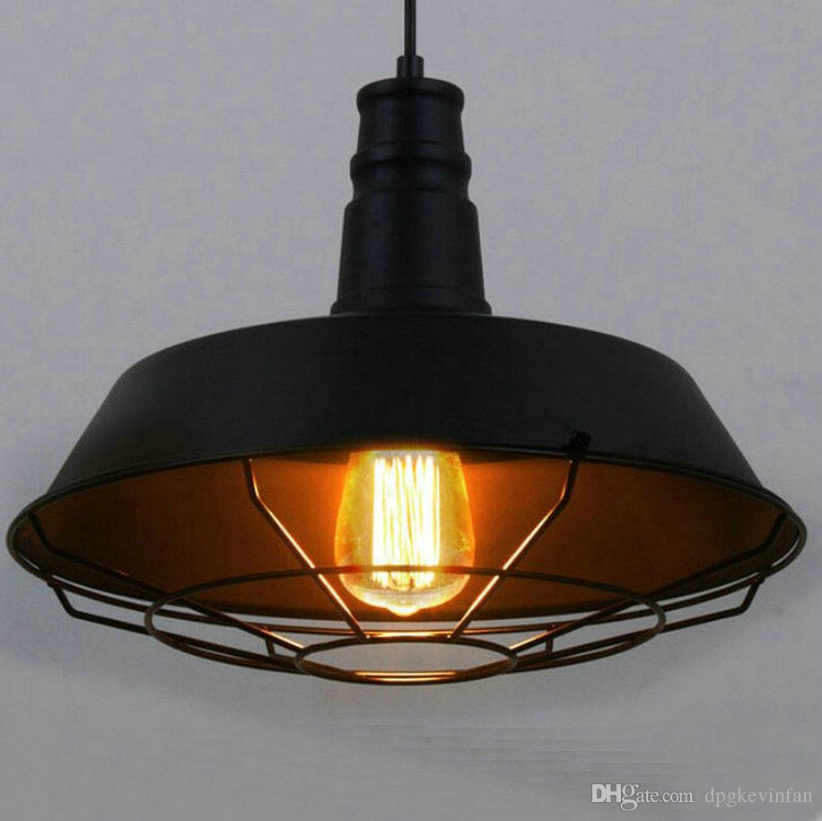 Loft style d 263646cm vintage industrial pendant lighting led lamp loft style d 263646cm vintage industrial pendant lighting led lamp metal hanging circle fixture dining roombarrestaurant glass pendant lights copper aloadofball Choice Image