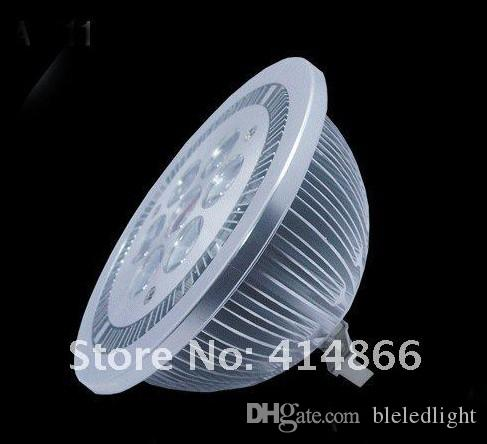 DHL / UPS送料無料30ピース9W AR111 LEDスポット電球/ 12V AC85-240V LEDスポットライト