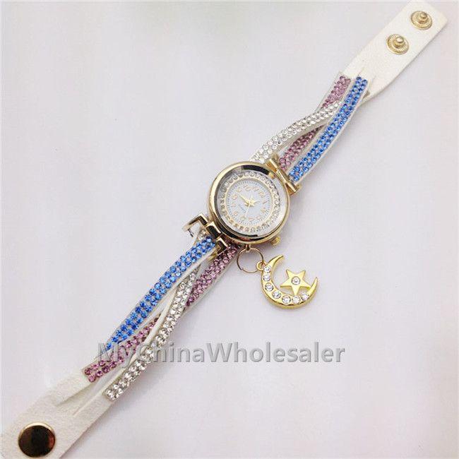 2015 مصمم ساعات فاخرة جديدة والساعات النسائية الماس ساعات العلامة التجارية مصمم تاريخ المرأة سوار المعصم السيدات الماس