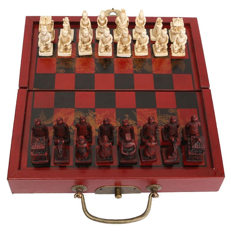 2019 Unique Technology Chinese Chess Set Terracota Warrior