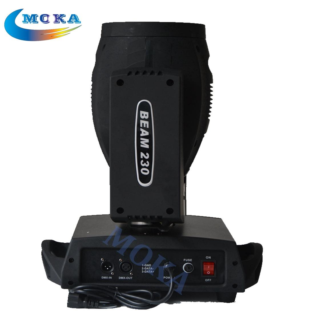 2016 Vendita Nuovo arrivo Sound Active Auto Led Fascio 230 Moving Head per Sharpy 7r Light Concert Lighting con Flight Case