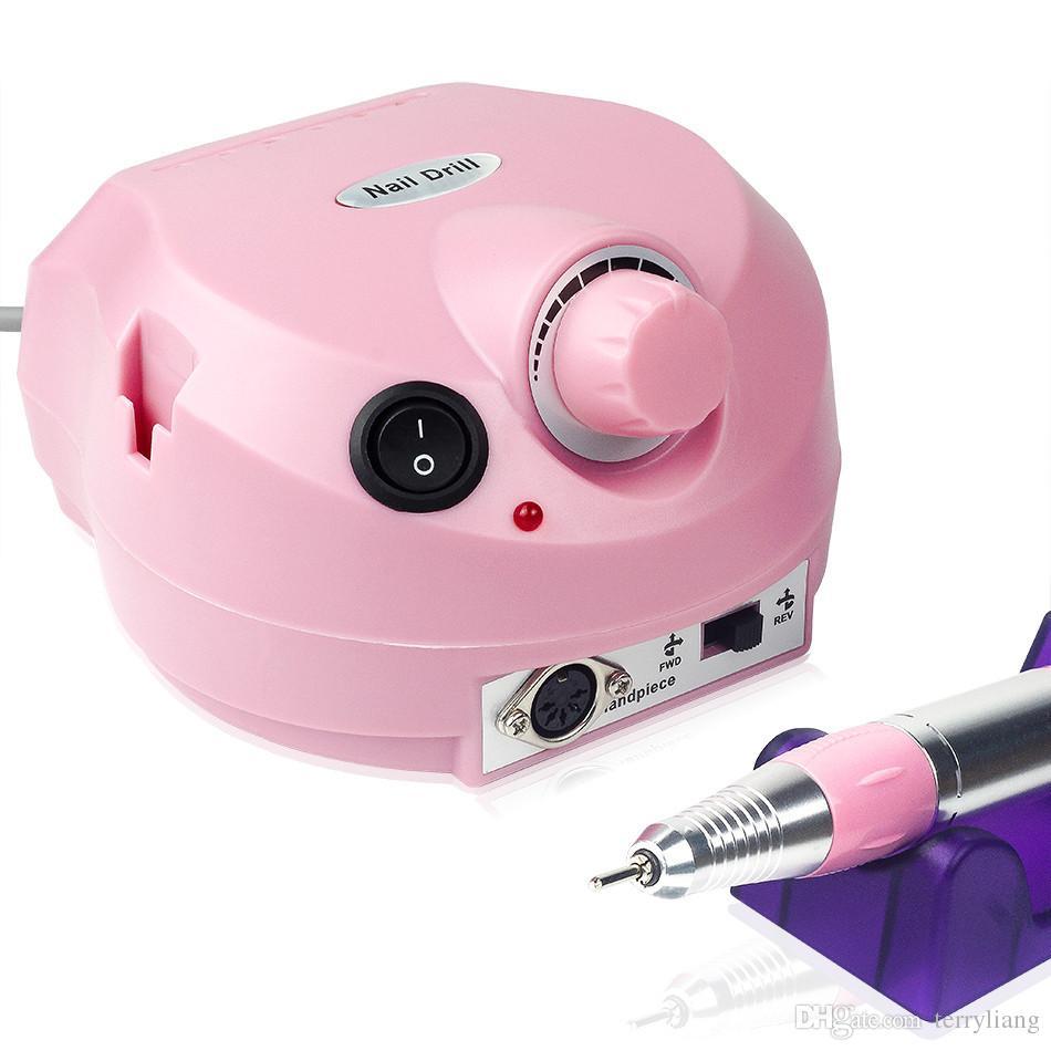 electric Nail Drill File Machine Maniure and Pedicure Drill Polish for Nail Gel Polish Nail art Tools