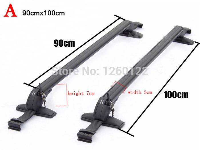 Car Roof Rack Car Top Racks Cross Bar No Drilling Required Quality