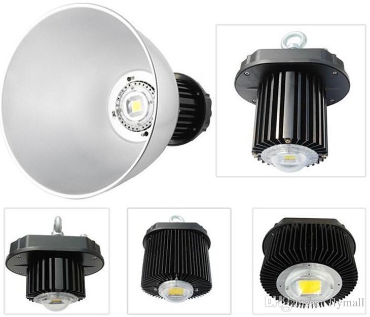 Alta iluminación industrial de la bahía de la luz 85-265V LED de la bahía del CE ROHS 100W alta que enciende 10000LM para la iluminación de inundación comercial de la iluminación de la fábrica de Warehouse