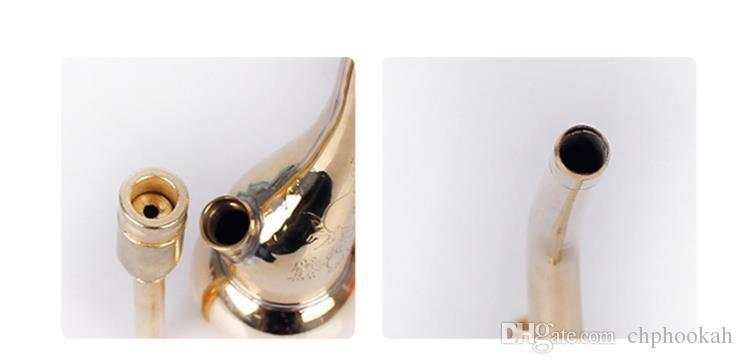 Mini filtre à fumée portatif de cuivre de filtration de l'eau de tuyau de narguilé de santé environnementale et de tabagisme