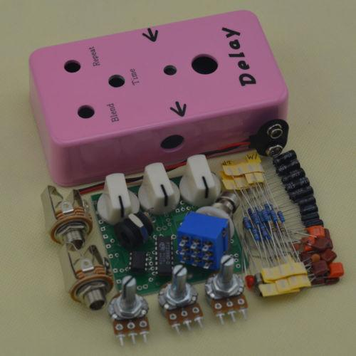 2019 build your own diy delay guitar effect pedal electric pedals from ljcdragon. Black Bedroom Furniture Sets. Home Design Ideas