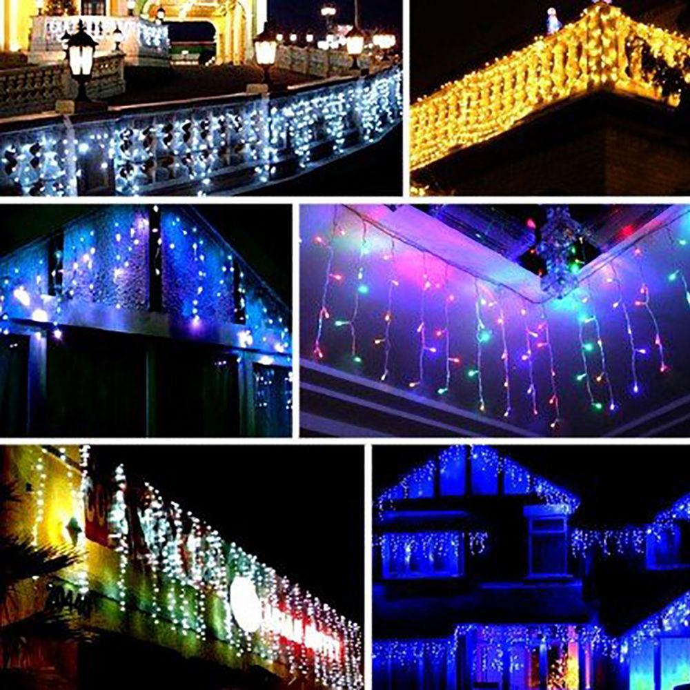cheap indooroutdoor christmas lights lighting led string light 35m 110v led ice bar string fairy light lamp 96led for decor xmas starry string lights - Cheap Outdoor Christmas Lights