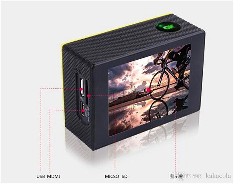 1080P Full HD WIFI action Camera Original SJ6000 Sports Waterproof Camera 170° Mini Camcorder Helmet Camera 2' LCD 12MP H.264 Car DVR