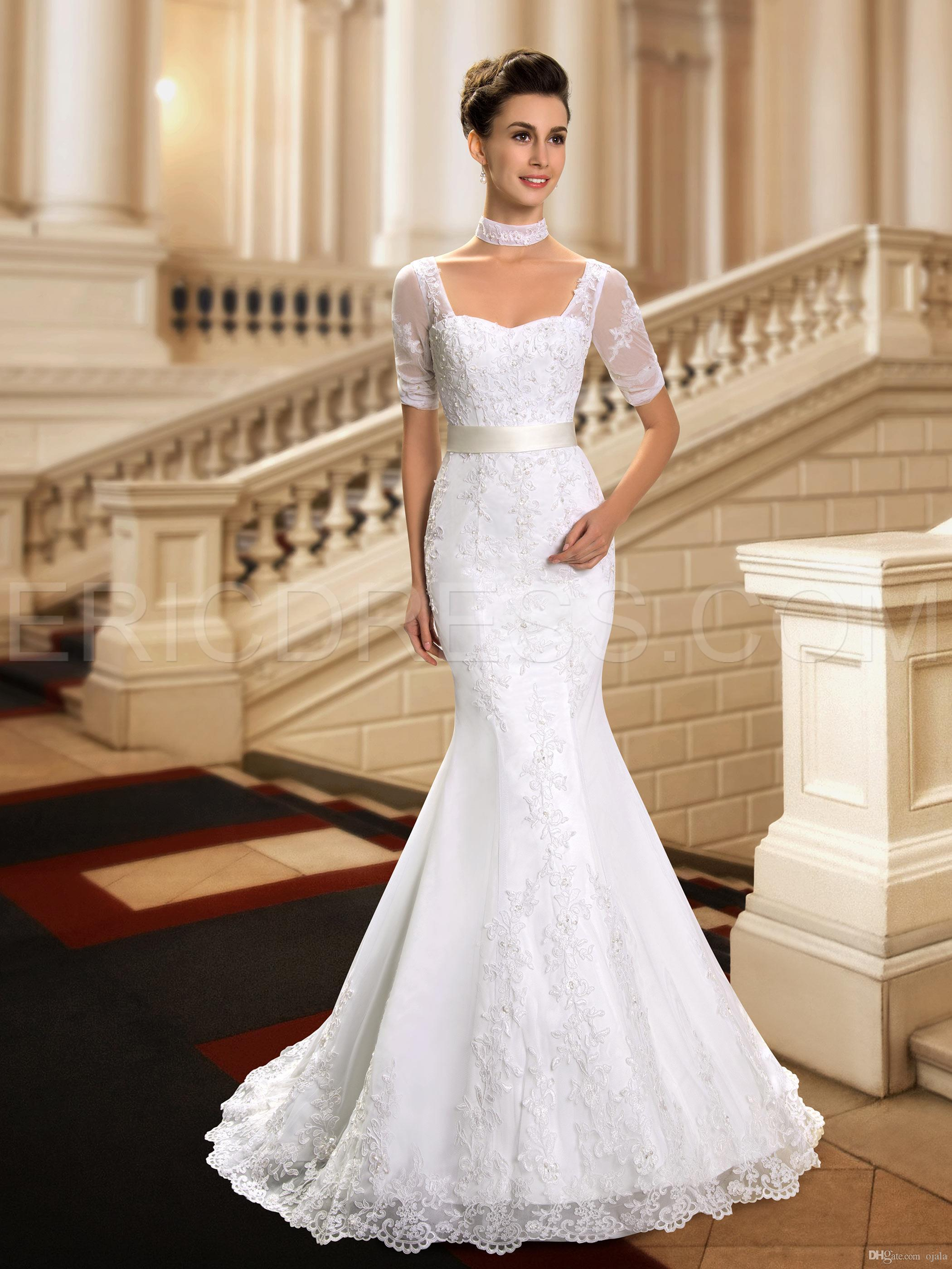 Nwd24 2015 fashionable of bride short sleeve lace mermaid wedding nwd24 2015 fashionable of bride short sleeve lace mermaid wedding dress fish tail plus size custom made bridal gown dresses wedding dresses designers ombrellifo Choice Image