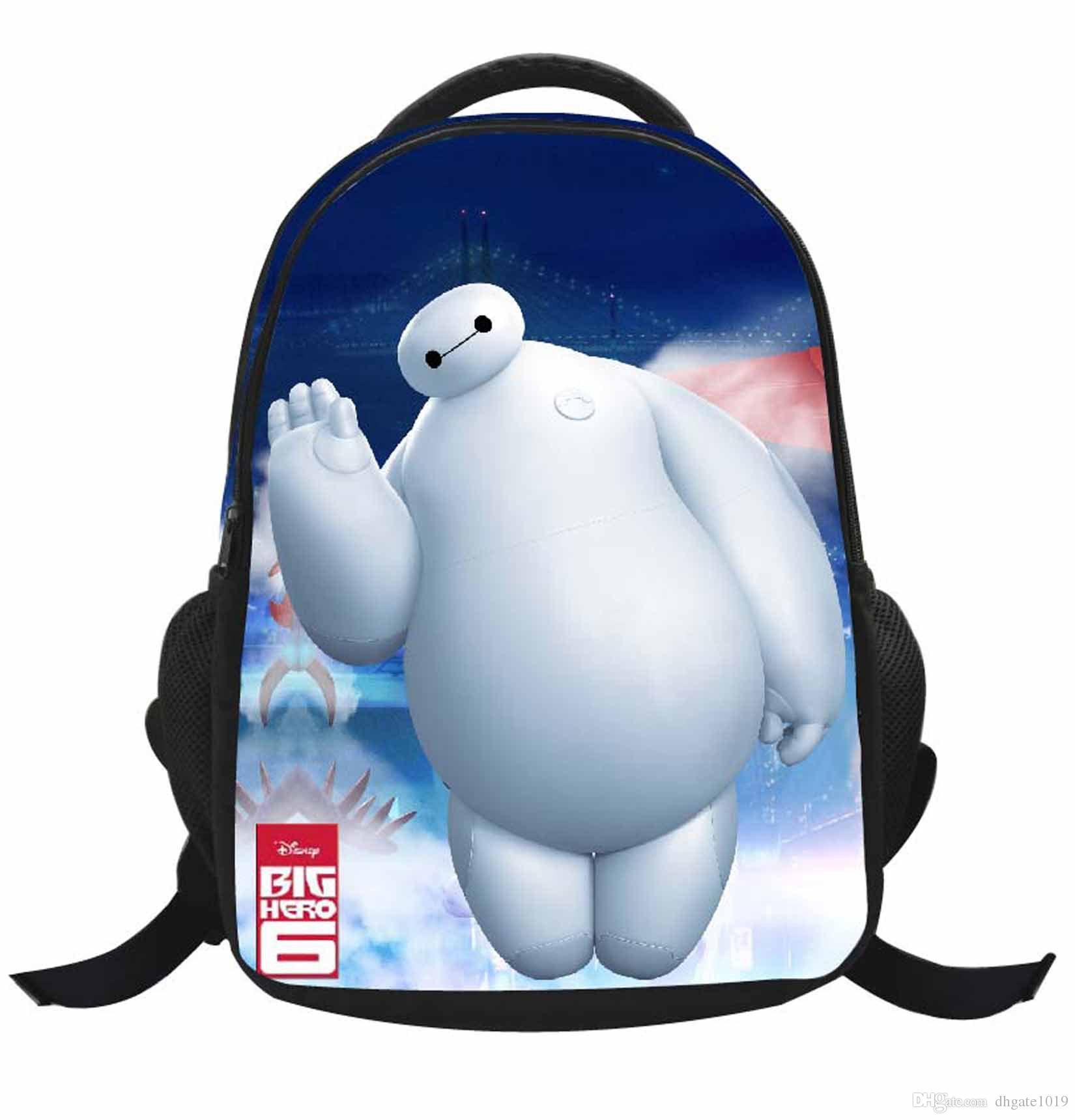 Bags for school on sale - Hot Sale New School Bags Big Hero 6 Baymax Cartoon School Backpacks Mochila Children S Bags Infantil Kindergarten Book Bags For Kids Boys Fashion Bags