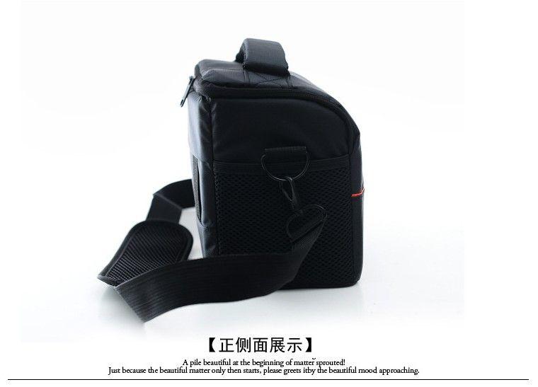 Saco da câmera Rrain Capa bolsa de Ombro saco da câmera digital Canon 600D 700D 70D 5D 360D Fotografia Sísmica DHL Frete grátis