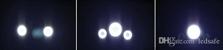 LED Farlar 3 Cree T6 Açık Balıkçılık Kamp için XM-L 5000LM Su Geçirmez Torch Fener 18650 Şarj Edilebilir Pil Şarj ile DHL