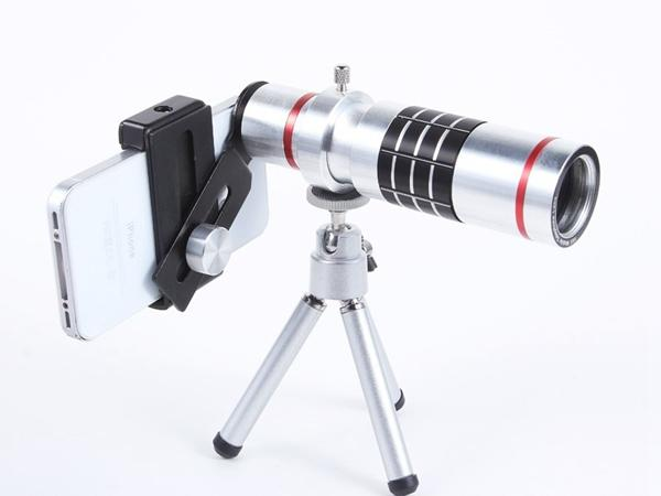 Universal 18X Zoom Optical Telescope telephoto lens Magnifier With Tripod For Iphone 6 6S 5S 4S Samsung S5 S4 Nokia Blackberry Smart Phone