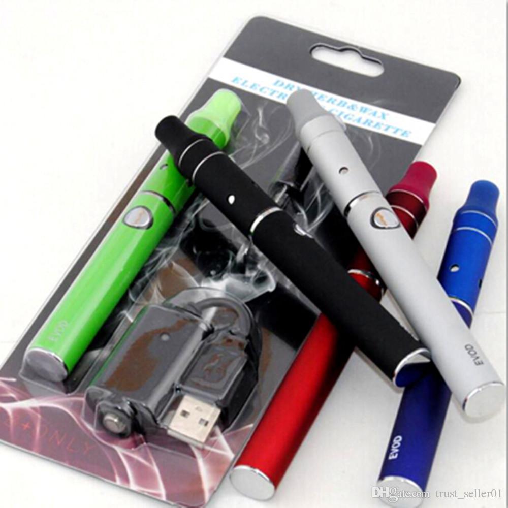EVOD 미니 AGO G5 드라이 허브 기화기 블리스 터 팩 키트 전자 담배 eGo Evod 배터리 스타터 키트 ecigarette mini 전 g5 vape 펜
