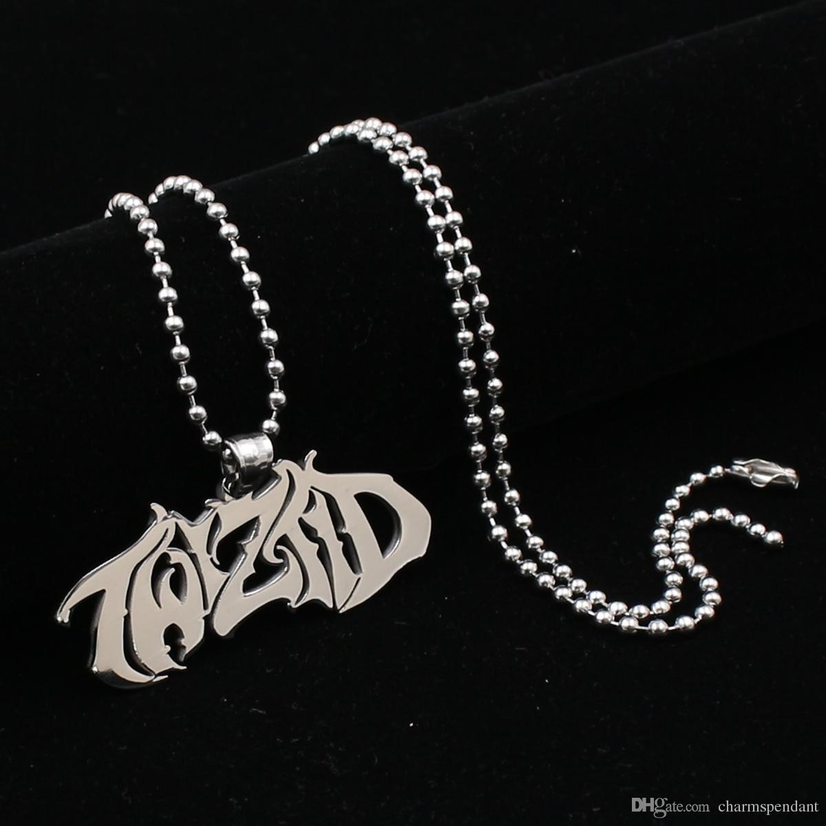 Spedizione gratuita NEW Hatchetman Twiztid ICP argento stile fascino collana in acciaio inossidabile pandent con catena da 30 pollici a sfera
