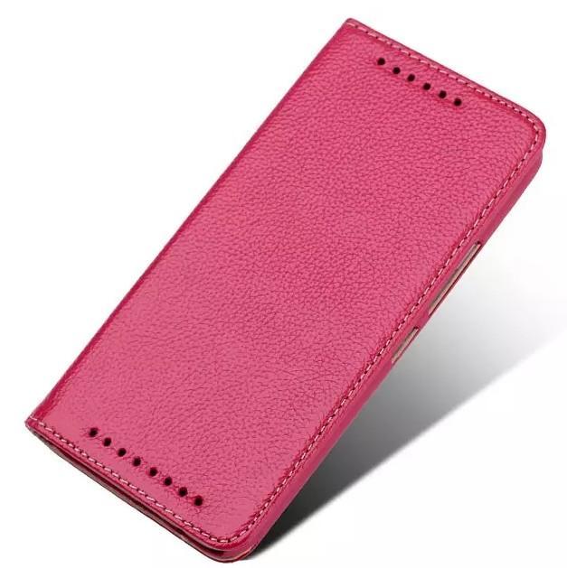 Funda de lujo para HTC M9 Funda de lujo con tapa y soporte original Funda ultra delgada delgada de cuero delgado para HTC One M9