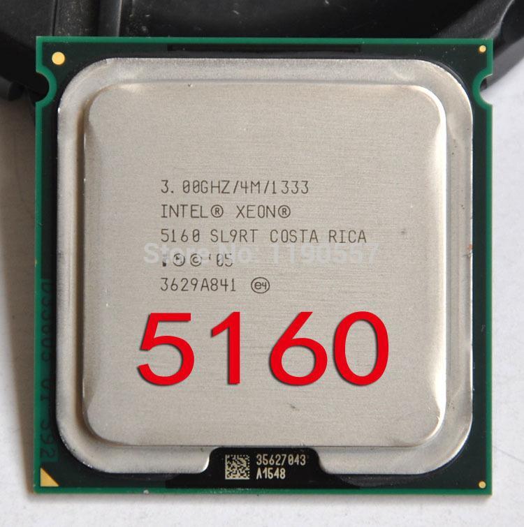 2018 intel xeon 5160 processor3 0ghz 4mb l2 dual core fsb 1333mhz