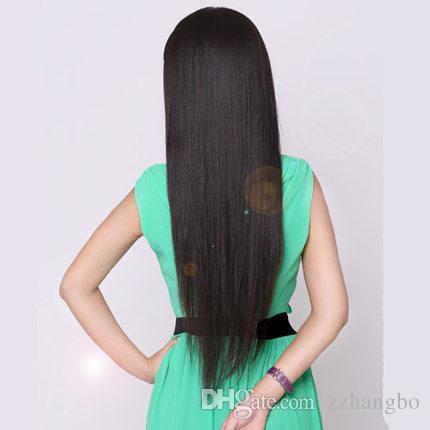Full Lace Wigs silk 5.5 * 5.5 Glueless Full Lace wigs Human Hair Wigs For Black Women Brazilian Virgin Hair 100 % Crochet Braids Weave