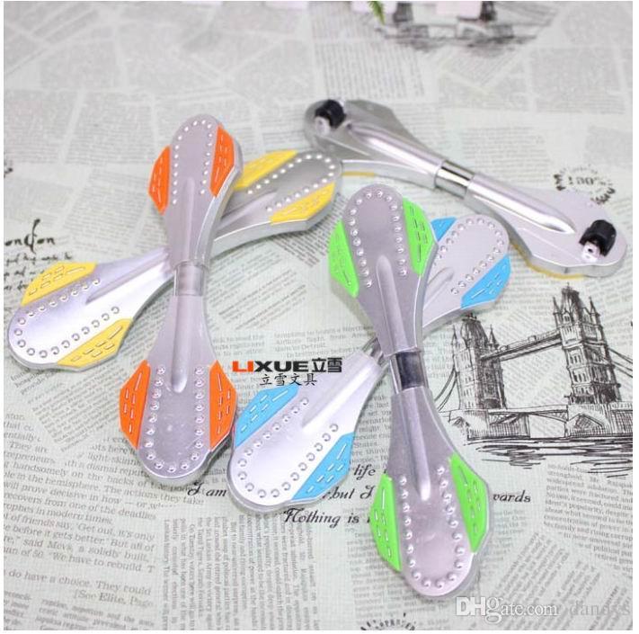 Promoção! Chegada nova Novidade Dos Desenhos Animados scooters forma caneta esferográfica, caneta de brinquedo, estudante presentes presentes 50 pçs / lote, dandys