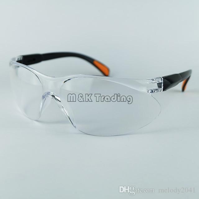 Sicurezza sul luogo di lavoro Forniture Occhiali protettivi Occhiali antipolvere Occhi Protettivi Apparecchio la protezione del lavoro Bianco e nero trasparente