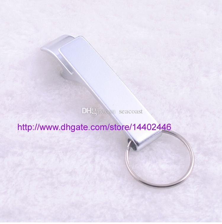 Logotipo chaveiro de metal liga de alumínio chaveiro anel de cerveja Abridores de lata Abridores de garrafas Ferramenta de Engrenagem Bebida personalizado personalizado
