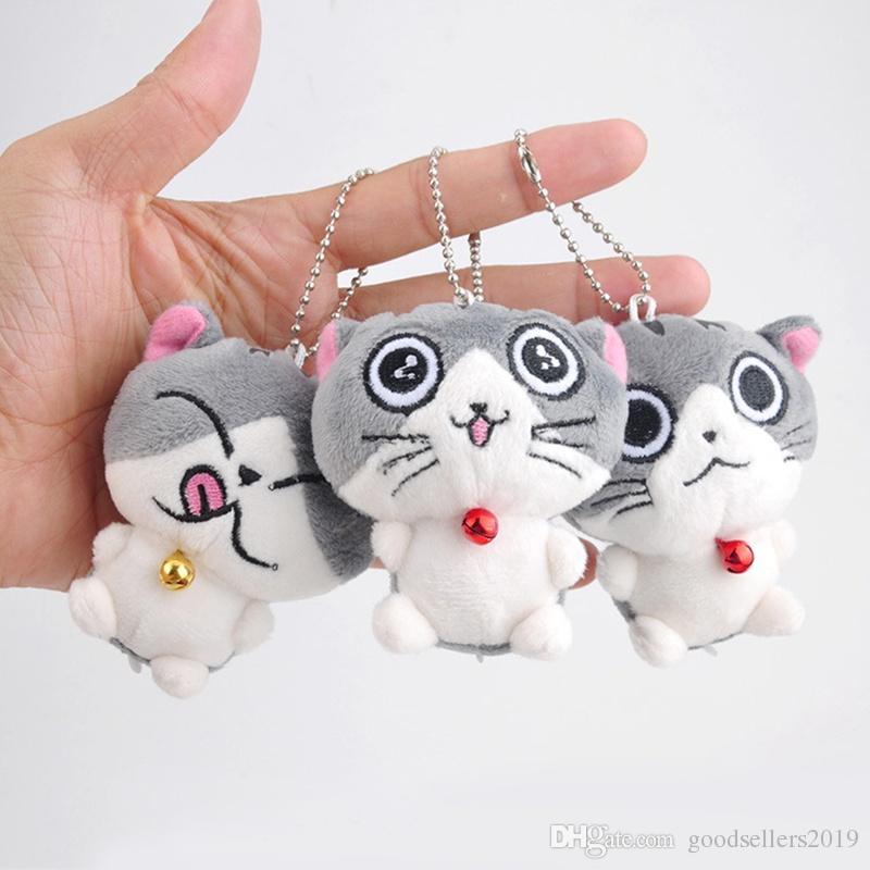 Cat Stuffed Animal 2019 Meow Collection Mini muñecos de peluche de felpa Colgante pequeño y lindo