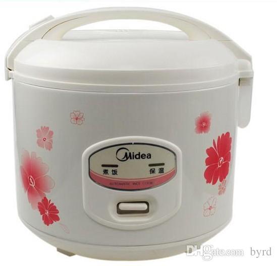 3L Midea elektrische Reiskocher YJ308J Edelstahl Antihaft- Innentopf DIY leben cookwere + Umwandlungs-Stecker Durable Geld sparen
