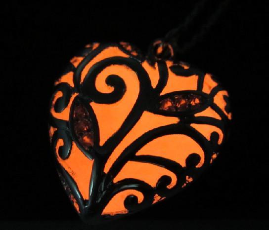 실버 하트 드롭 목걸이 목걸이 진한 펜던트 목걸이에 빛나는 선물 빛나는 빛나는 스톤 빈티지 목걸이 무료 드롭 배송