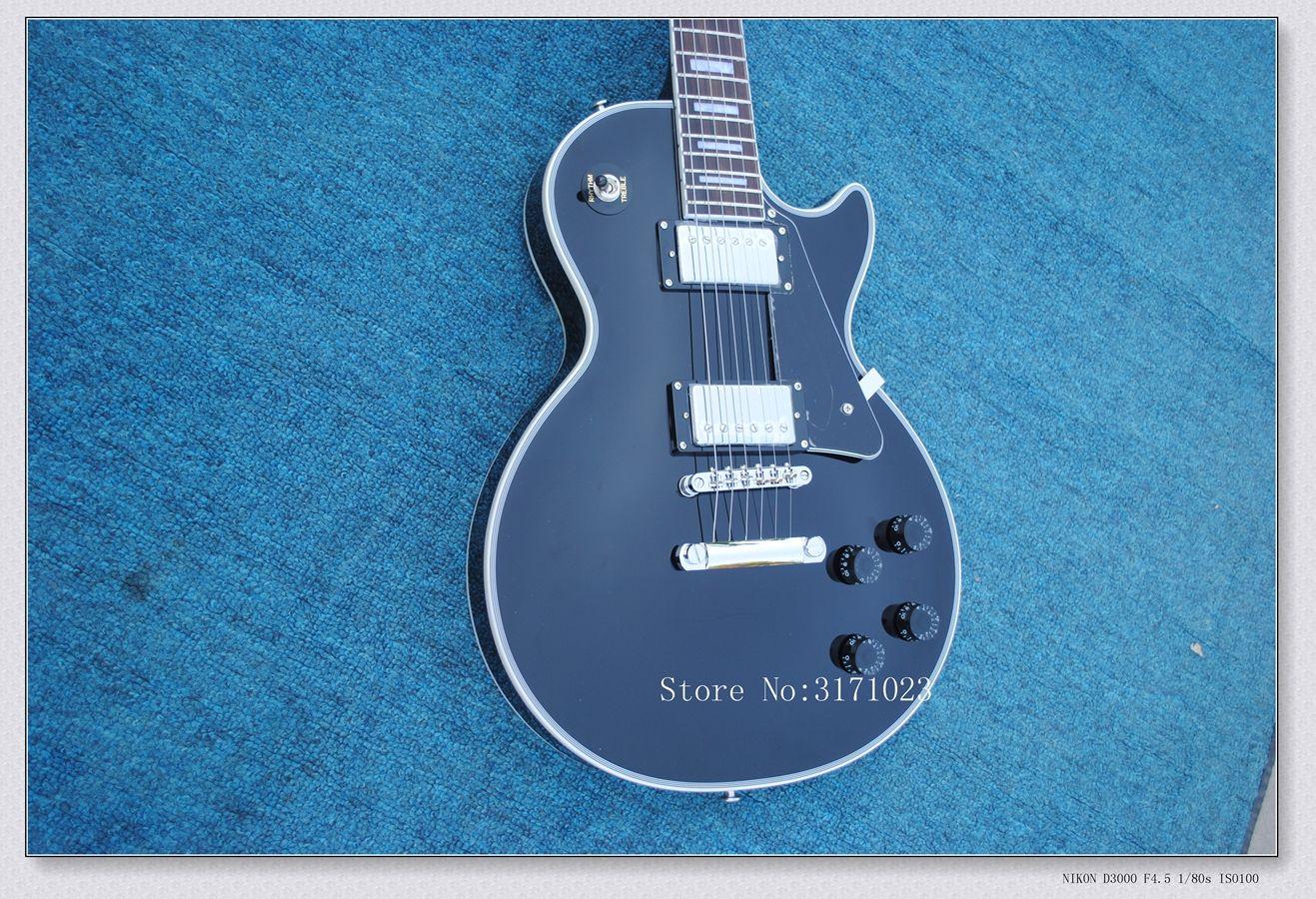 Black Beauty electric guitar Custom shop Black beauty Electric Guitar 2 pickup wholesale guitars from china