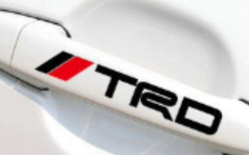 Wholesale trd car handle sticker decal white and black car styling car window stickers car emblems online with 31 92 set on circlejuans store dhgate