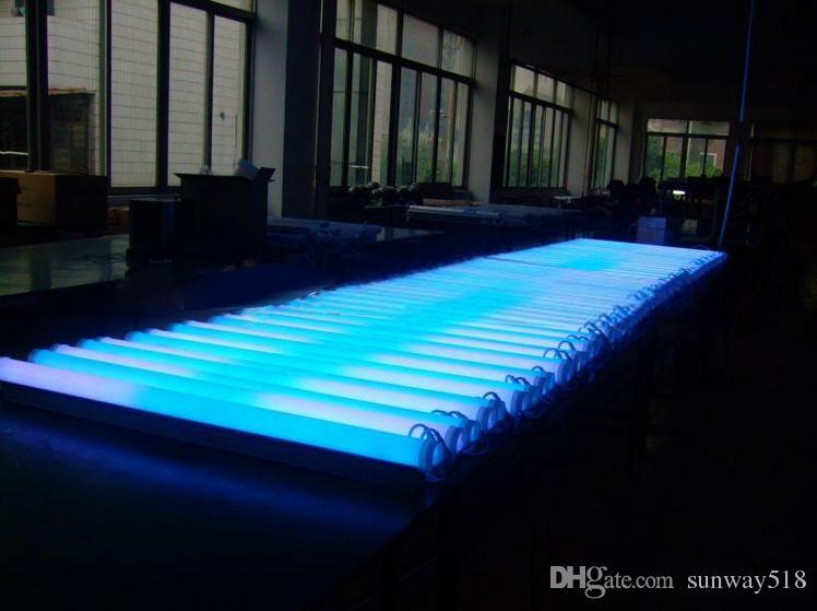 LED Néon ba signe IP 66 LED Digital Tube / LED DMX changement de couleur du tube étanche à l'extérieur des tubes colorés bâtiment décorer tube lumière sportligh