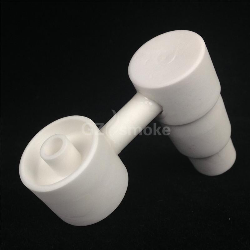 Cerâmica Bangers unhas tampa do carb para bong vidro lado da tubulação de água braço domeless com universal 14mm 18mm juntas unhas do corpo masculino em cerâmica