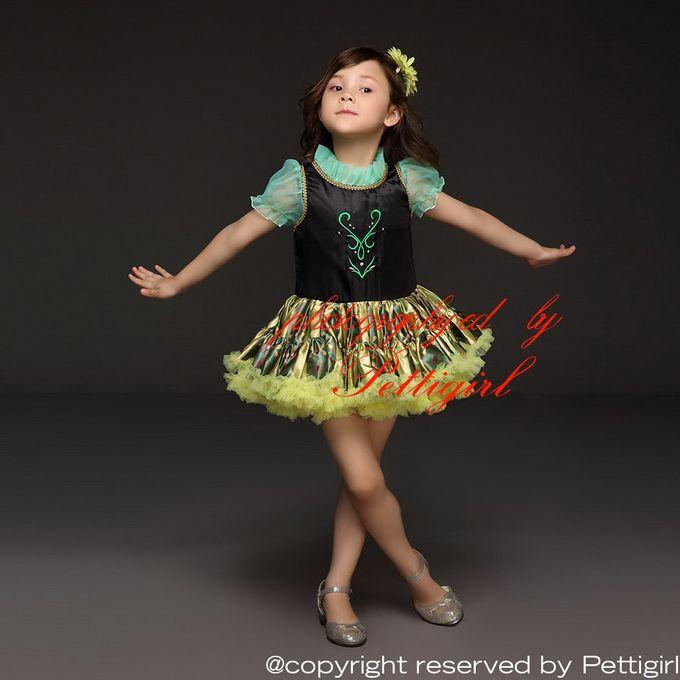 Pettigirl Wholesale Anna Tutu Dress For Baby Floral Elsa