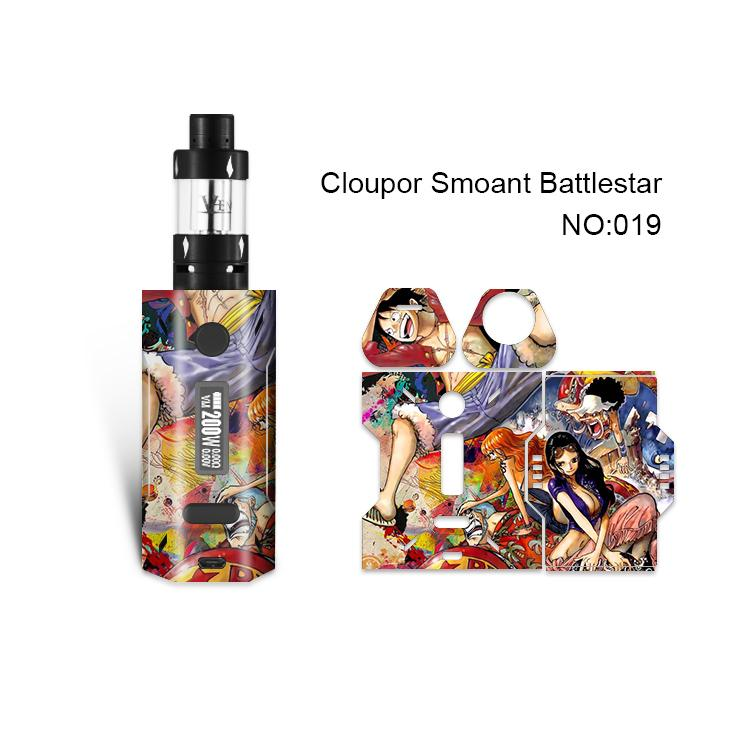 Smoant Battlestar Skin Printing Wraps Sticker Cases Cover for Cloupor Smoant Battlestar 200W TC Box Mod Film Stickers 30 Pattern DHL