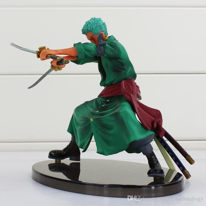 One Piece Roronoa Zoro PVC Figure Toy Decisive Battle Version Action PVC Figure Collection Model Toy