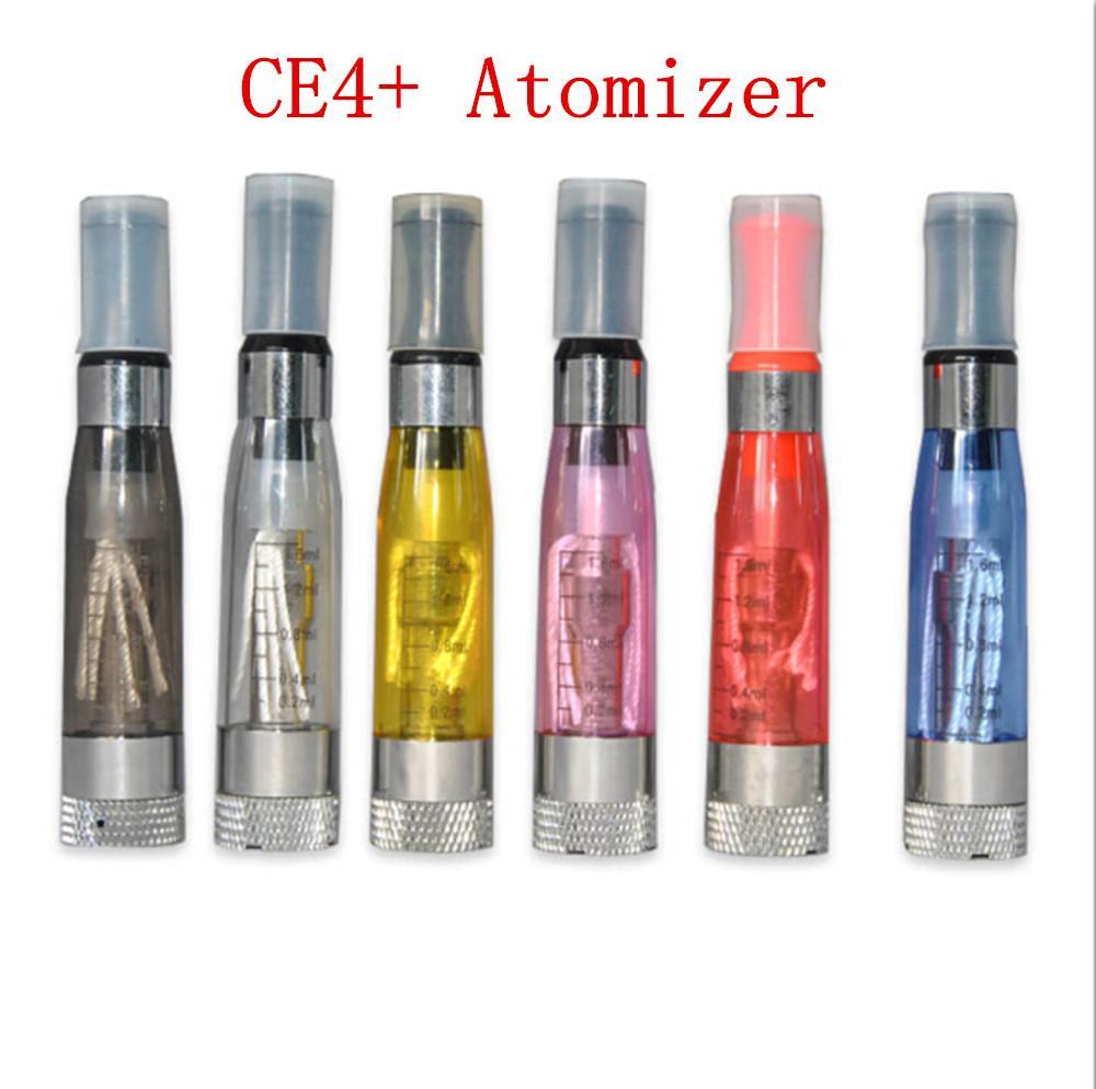 CE4 Vaporizador Clearomizer CE4 + CE5 + rebuildable bobina Atomizador e cigarros tanques vape fit Ecigarettes eGo 510 fio UGO evod Bateria Mods
