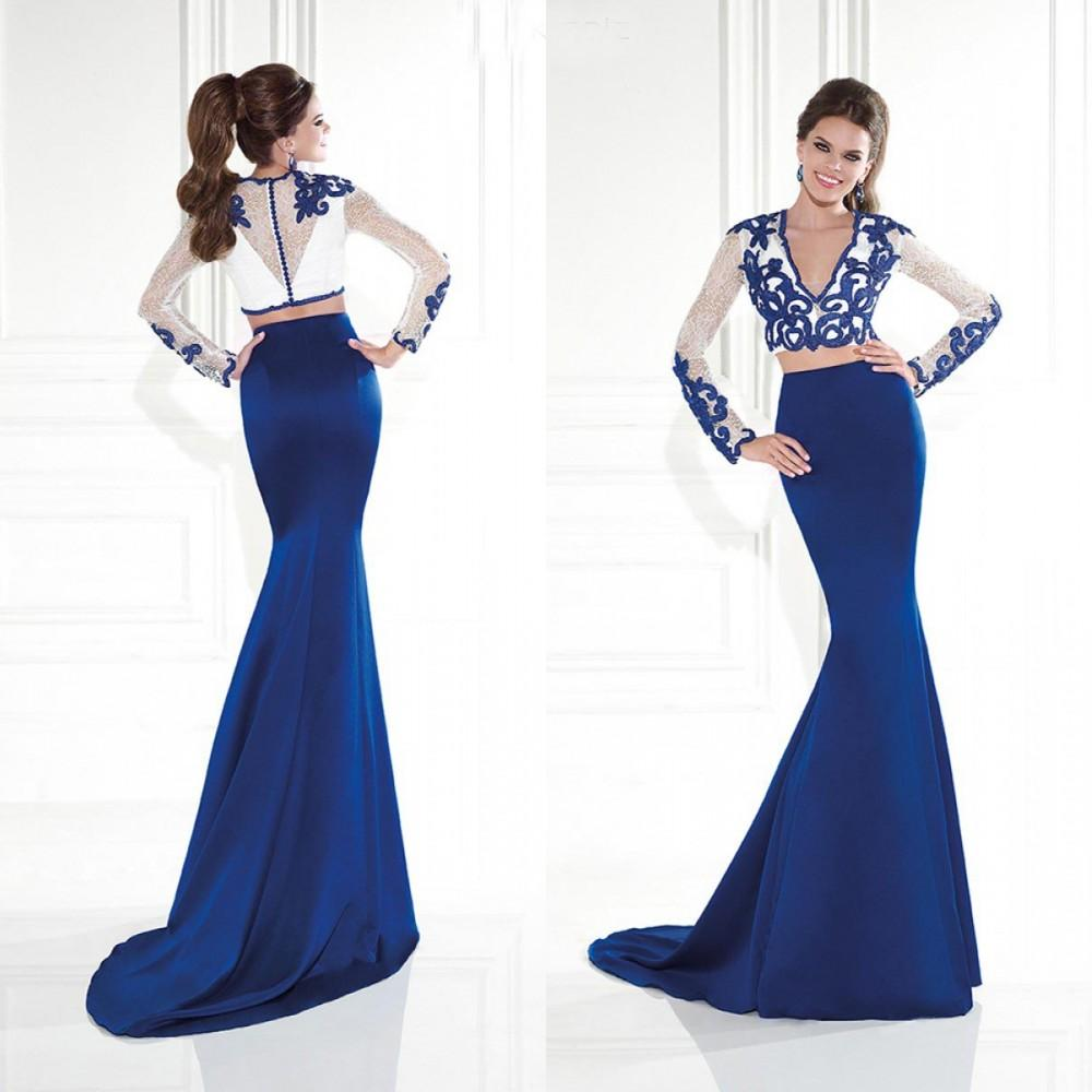 2015 Sexy Prom Dress Special Graduation Dresses With Lace Applique