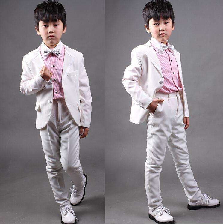 2015 Handsome Fashion Boy Suits Dress Coat Small Boys Suit ...
