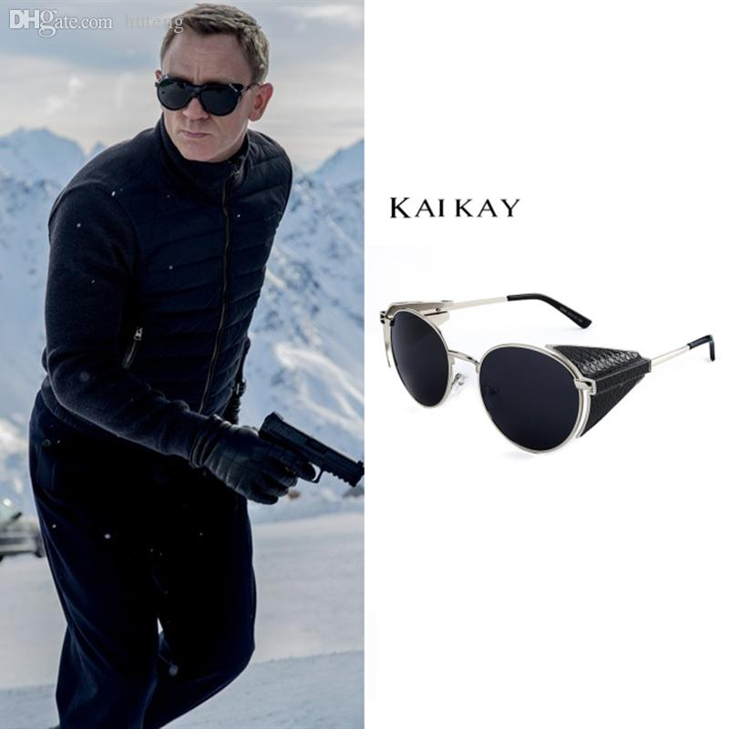 153a18f615145 Wholesale Spectre James Bond Sunglasses Men Women Oculo Oculos Gafas De Sol  Feminino Masculino Women S Men S Steam Punk Lunette De Soleil Cool  Sunglasses ...