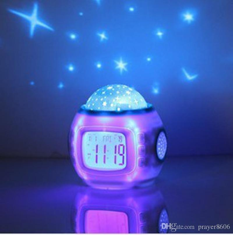 projector in bedroom. Online Cheap Brand New Music Starry Sky Projection Children Room Star  Night Light Projector Lamp Bedroom Alarm Clock W By Prayer8606 Dhgate Com