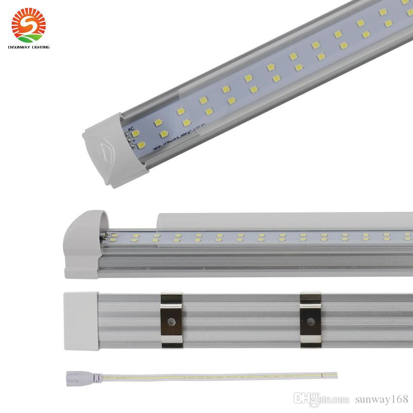 4ft integrated led tubes 192leds led bulbs clear cover strip cover 4ft integrated led tubes 192leds led bulbs clear cover strip cover frosted cover ac85 265v ce rohs led lights tube t4 led tube from sunway168 aloadofball