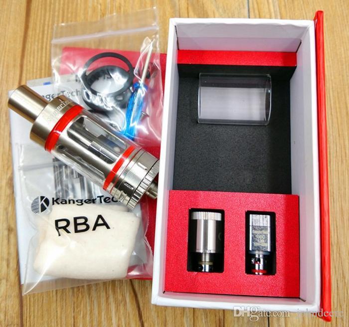 Clone Kanger Subtank mini atomizzatore 4.5ml kangertech vaporizzatore elettronico sigarette e cigs vapore kit KBOX istick vendita calda