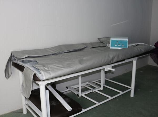 3 Isı bölgeleri sauna zayıflama spa termal battaniye sauna ısıtma battaniye DHL aracılığıyla ücretsiz gemi