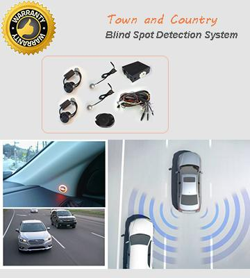 hot sales universal car blind spot detection assist system with black white silver rear sensors. Black Bedroom Furniture Sets. Home Design Ideas