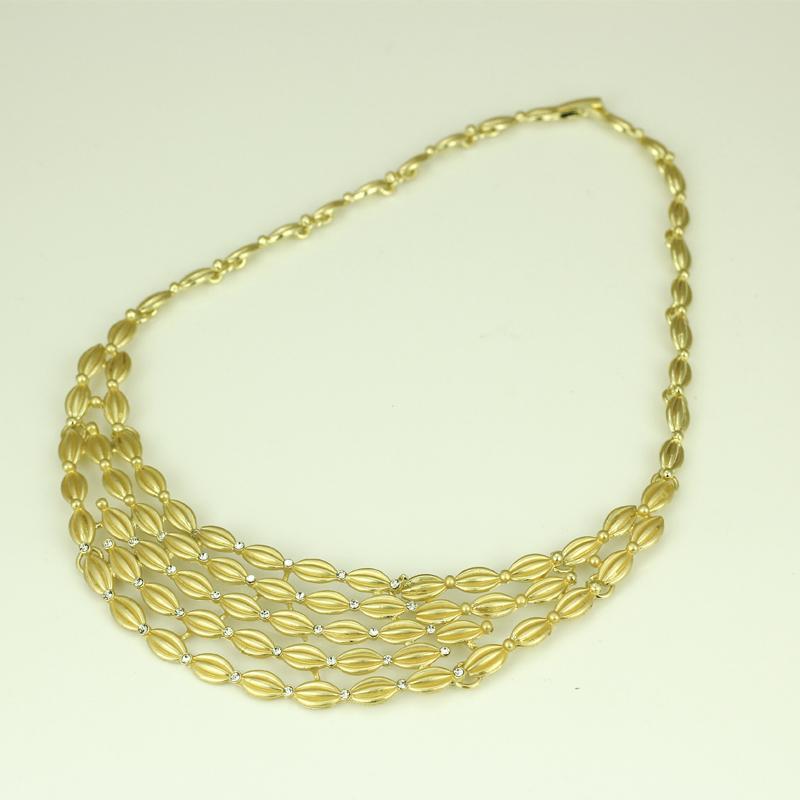 2018 2015 New 18k Gold Plated Jewelry Set Dubai Nigeria Crystal