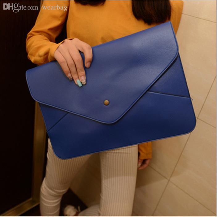 Wholesale-Women Leather Bags Women s Handbags 2015 Fashion Handbag  Messenger Tote Woman Shoulder Cross-Body Evening Bag Clutch Wallets Handbag  Mirror ... d42f667297809