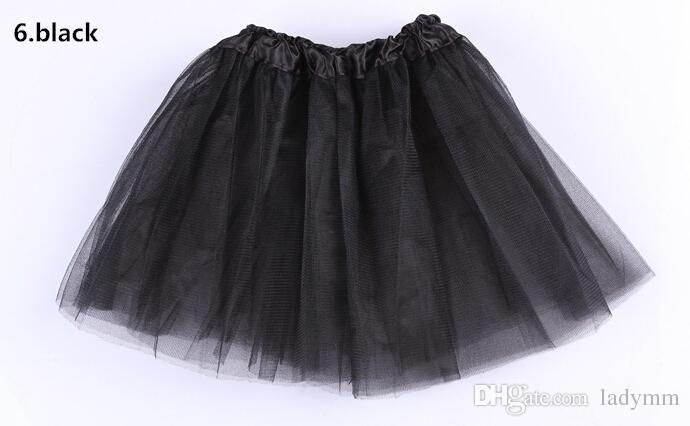 2015 tjej 14 godis färg barn ballett kjol 3 lager boll klänning kaka kjolar tutu pettiskirt net garn paljetter dans tutu kjolar