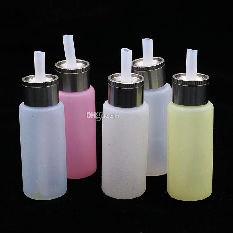 Squonk Bottiglia Food Grade Silicon 8ml Bottom Filling E Juice Squeeze Bottiglie liquide E sigaretta Squadra Squadra mod mod colorato DHL